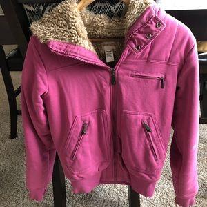 Diesel fuzzy coat XS 💕 Fuzzy and warm brand new!